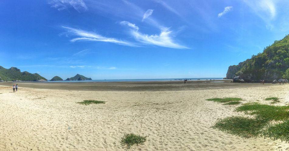 Beach Sea Sky Sand Mountain