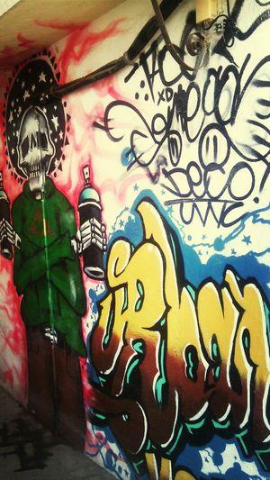 Manzanillo Streetart Arturban Hi!