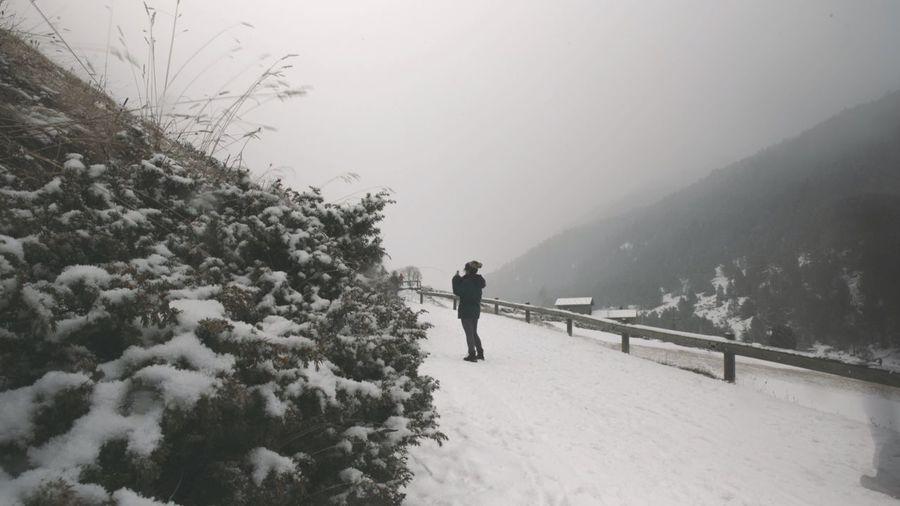 Enjoying Life Taking Photos The Places I've Been Today Principat D'Andorra Exploring Landscape Winter Wonderland