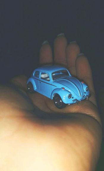 Blue Human Hand Automobile Mini Vintage Present Beauty In Ordinary Things MotoZPlay AndroidPhotography