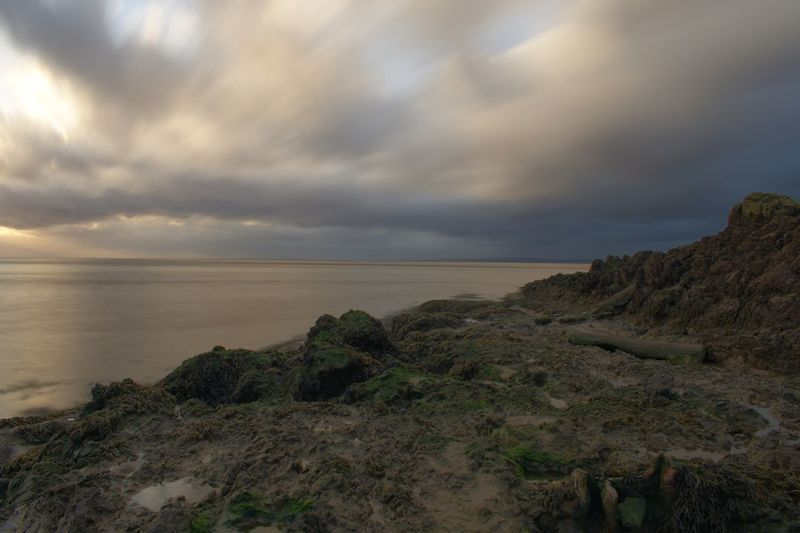 Portishead Long Exposure Photography Long Exposure Sky Sea Nature Tranquility Scenics Beauty In Nature Water Tranquil Scene Horizon Over Water Cloud - Sky Landscape Outdoors No People Scenery