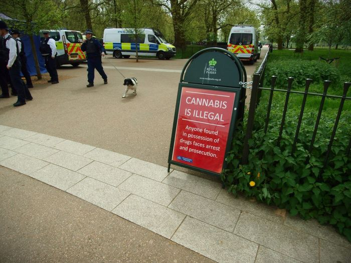 London 420 Rally to legalise Canabis 20-04-2017 Hyde Park London London Lifestyle Canabisculture Zuiko Metropolitan Police Drug Sniffer Dogs Steve Merrick Canabis Photojournalism Olympus Stevesevilempire London News Policing 420 Rally Canabbis