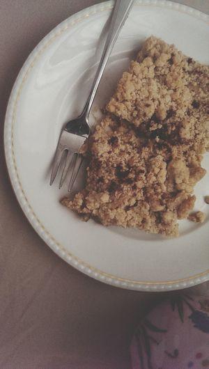 Homemade Dessert Crumble Cake Enjoying Life