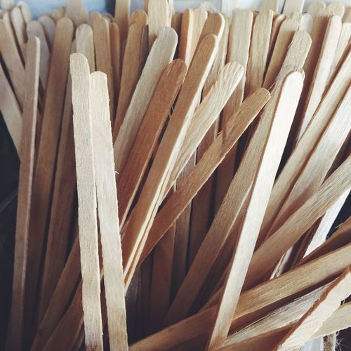 Coffee wooden sticks at a cafe place Wood Wooden Stick Mix Coffee Deink Stir Cafe