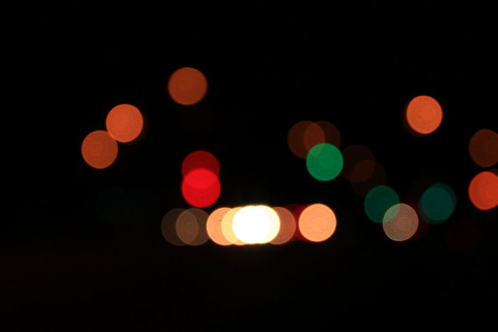 Abstract Bright Circle City Life Colorful Dark Defocused Electric Light Geometric Shape Glowing Ideas Illuminated Lens Flare Light Light - Natural Phenomenon Light Effect Lighting Equipment Multi Colored Night Nightlife No People Outdoors Spotlight Spotted Vibrant Color