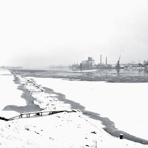 Winter Wonderland Riga Daugava