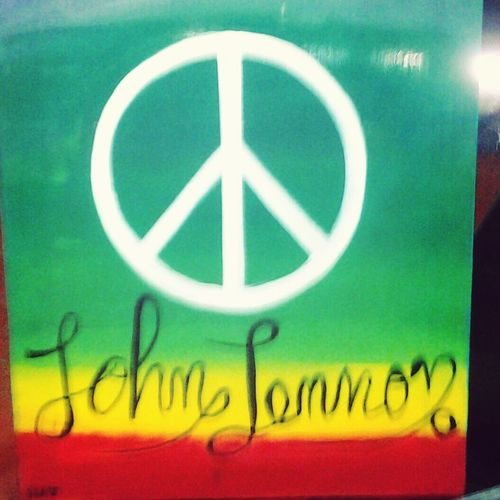 Rock Jhonlennon Peace