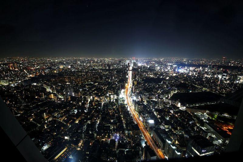마치 드론뷰 같은.. 도쿄의 야경 . . #하루한컷 #롯본기힐즈 #모리타워 #야경 #도쿄 #5DMARK4 #시그마1224 #SIGMA1224 City Cityscape Illuminated Arts Culture And Entertainment Nightlife Sky