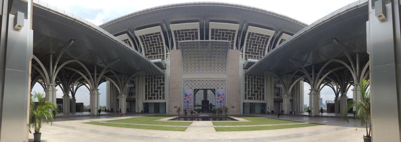 Architecture Built Structure Travel Destinations Mosque Malaysia Putrajaya
