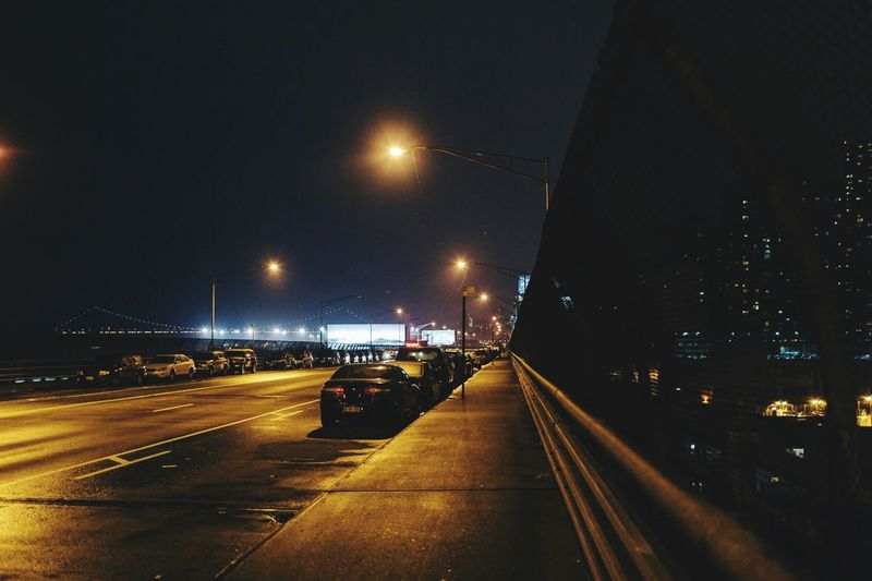 Illuminated Night Transportation Street Light Mode Of Transport Road Land Vehicle Street Car The Way Forward Sky Light Trail Outdoors Built Structure Architecture No People Building Exterior City High Street The Great Outdoors - 2017 EyeEm Awards