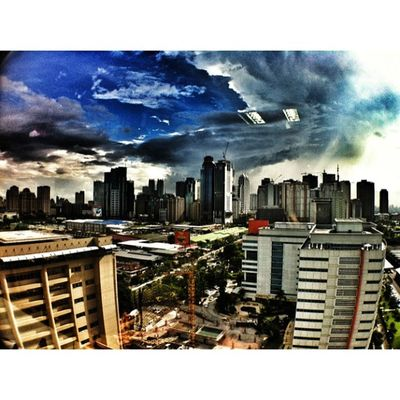 Blue Sky same spot diff Clouds Wide Iphotography Ortigas Skypimpin Ig_best IGDaily Igmanila Ig_philippines Ig_picoftheday