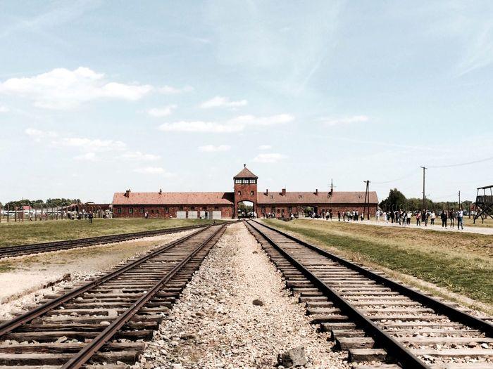 Auschwitz  Concentrationcamp Entrance Terminus Lotti On Tour