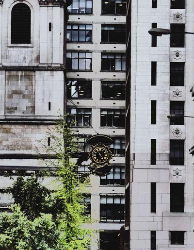 Architecture Day Outdoors City LUMIX DMC-GX7 London City Clock Face Clock Vintage