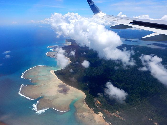 Firsttimeflight Andaman Nikobar island Airplane Nature Blue Sea And Sky Travel Photography Travel