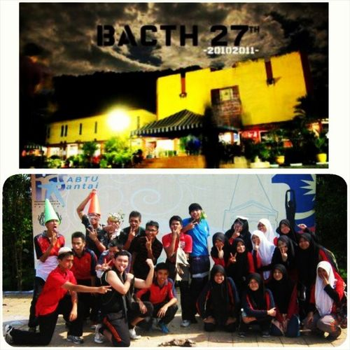 17 February... Happy Annivesary 27th Bacth of MrsmTaiping 408/508 :) :) :) A place where I met those super duper great people...They great in their own way...They are all the unsung legend.. ^^ Bukantypo 27thbacth 94 seveneleven Ansara