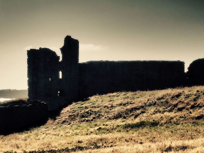 Castle Castle Ruin Northumbria