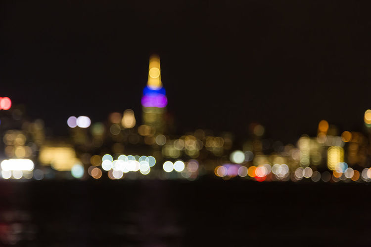 NYC, New York City Architecture City Cityscape Defocused Empire State Building Illuminated Lighting Equipment New York City New York City Photos Night No People NYC NYC, New York City Outdoors Skyscraper Urban Skyline