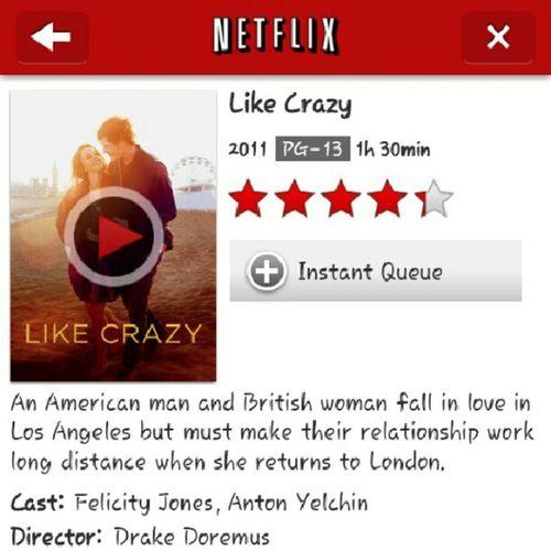 love this movie Likecrazy Romance