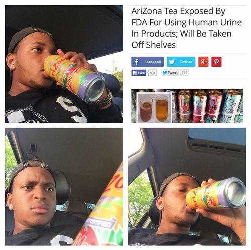 Ain't no way I'm giving up Arizona Iced Tea 😂😂😂
