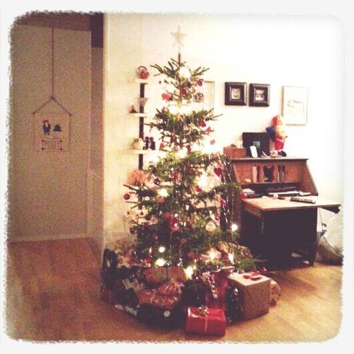 Da var julemiddagen straks klar og julestemninga begynner å sige på :)