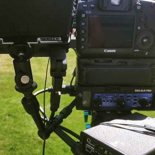 @smallhd thanks for getting my DP4 back and like new. Test today with a new Countryman Mic along with our Lectrosonics system. It's a good day in Tvland Productionlife Northwest Upperleftusa