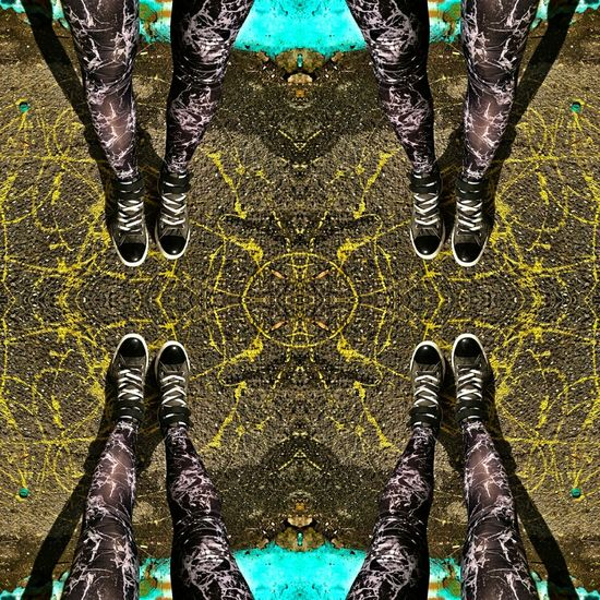 Low Section Human Leg High Angle View Human Body Part Real People Day Pattern Standing Full Frame Outdoors One Person Close-up EyEmNewHere AllStarshoes Converse All Star Converse ConverseChuckTaylors Loveshoes Streetphotography Streetart Yellow Yellow Color Onthefloor Ground Ground View Paint The Town Yellow