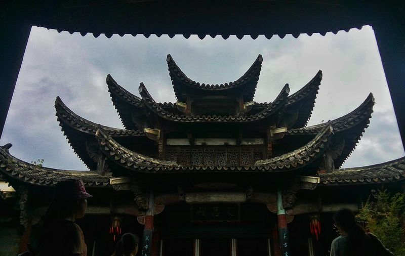 Spirituality Religion Place Of Worship Architecture Built Structure Temple - Building Religion Building Exterior Low Angle View Exterior Sky Pagoda Famous Place Tourism Tradition Culture Entrance Majestic Outdoors Culture
