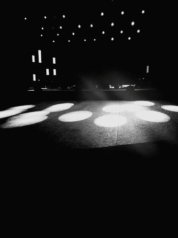 Lights will guide you home. Lights Stage Photography Circles Dark Darkness And Light Blackandwhite