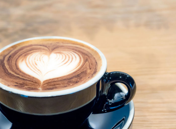 Coffee in black