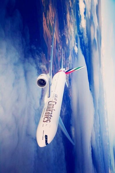 Fly Emirates Love ♥ Word