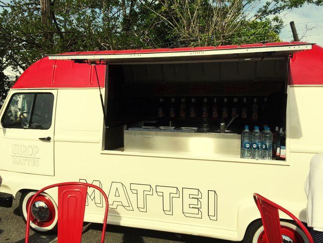 Truck Mattei Sirop Red No People Vintage Vintagecar Vintage Cars Outdoors