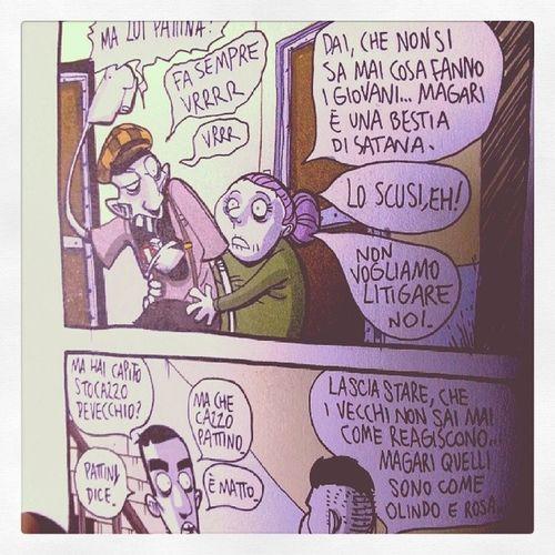 Vrrr, vrrr! Vecchivsgiovani Bestiedisatana Olindoerosa Zerocalcare comics