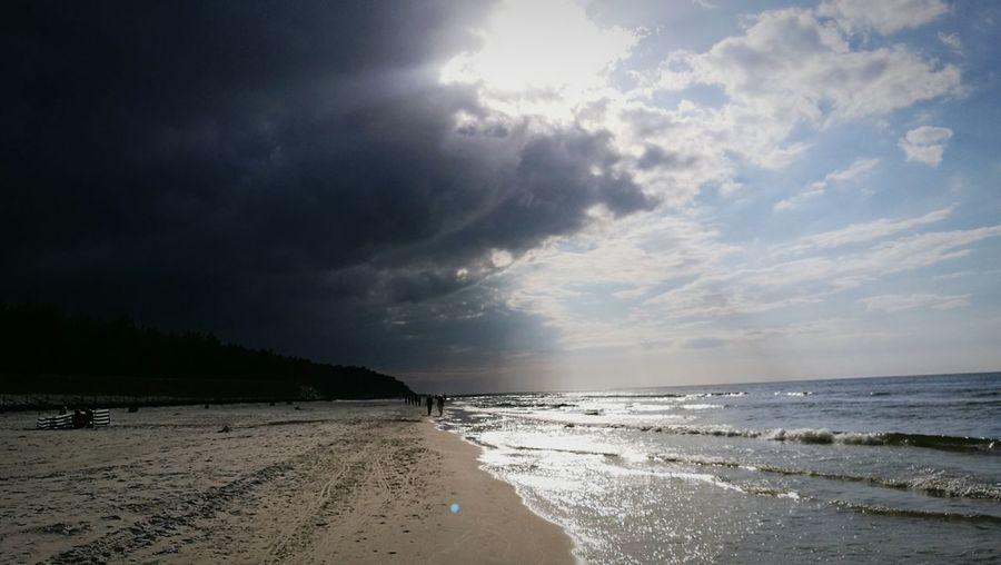 Beach Sea Cloud