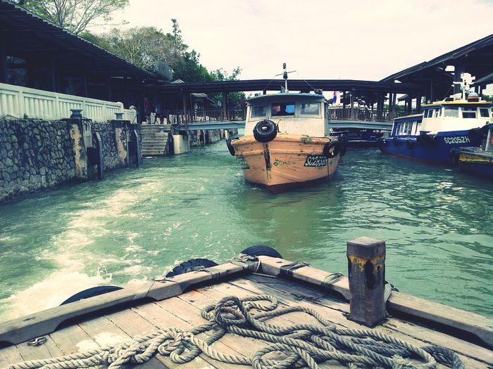 Goodbye Adventure Boat