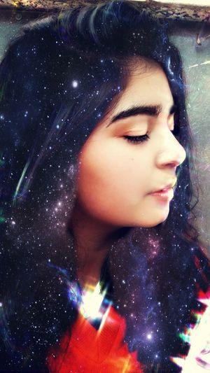 Galaxy Stars Starsanddreams Blackhair