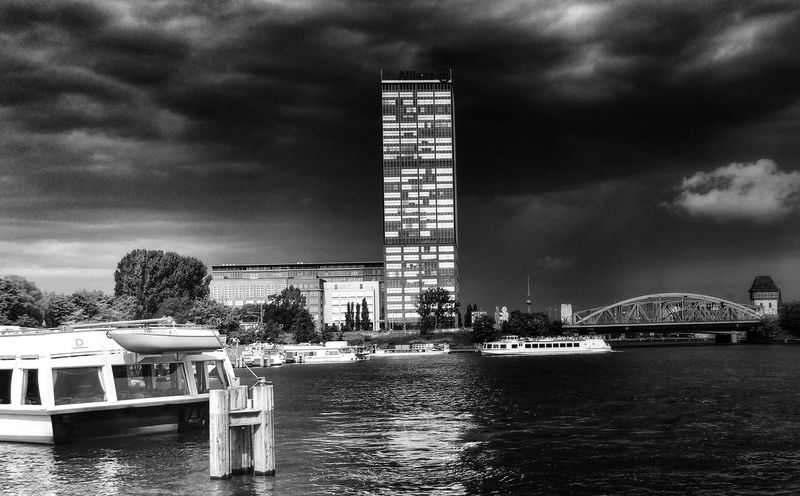 the silence before the storm Berlin Monochrome Blackandwhite Cityscapes
