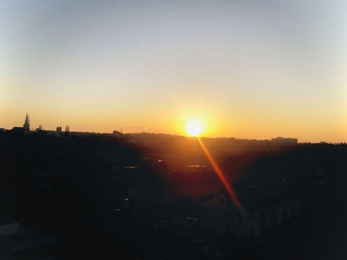 Sky Sunset Sun