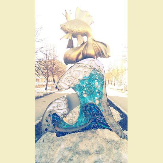 площадь Пушкина золотаярыбка