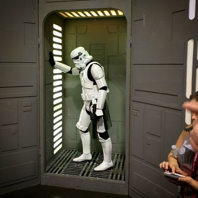 Looks like an iconic history image we all know. Stormtrooper Starwars