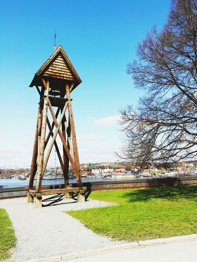 Stokholm Sweden Clear Sky Rural Scene Beach Sea Summer Sky Grass Architecture Landscape Lookout Tower Lifeguard  Observation Point Pavilion Lifeguard Hut Thatched Roof Coin Operated Gazebo Shelter Stilt House Sunshade