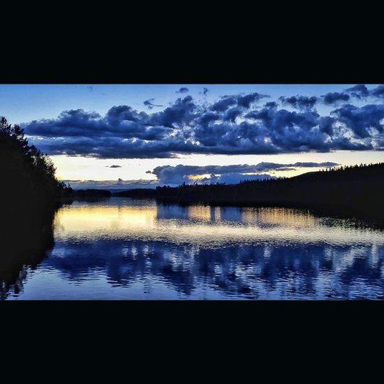 Kvällspromenad i Älvdalen