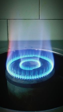 Heat - Temperature Flame Danger Burning Fuel And Power Generation Blue