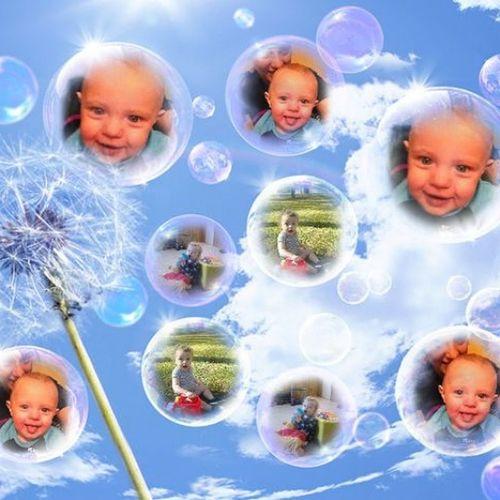 Grandson Bubbles