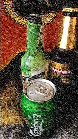En Mi Casa Guitarra Bebidas Ritmo Felicidad 😀