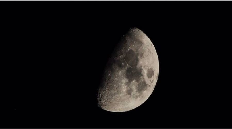 The Dark Side Of The Moon Gdynia Moon Księżyc Polska Poland Photo.Mariusz Woźniak