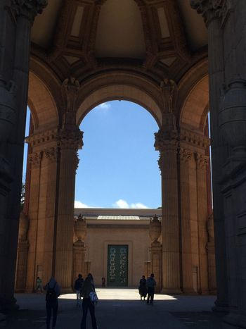 Hidden Gems  San Francisco Historic The Palace Of Fine Arts, SF Paper Mache