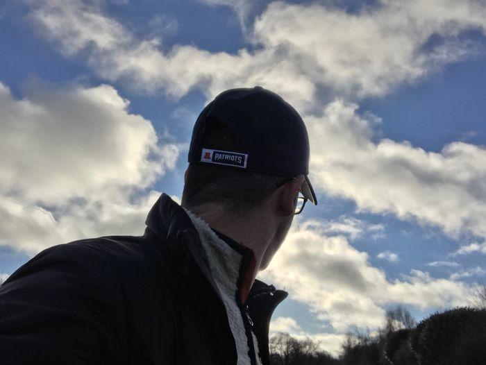 Patriots  Newenglandpatriots Selfie Clouds Clouds And Sky