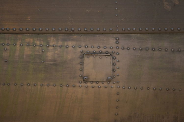 Unpainted Lancaster Close-up Aircraft Backgrounds Close-up Full Frame Indoors  Lancaster Lancaster Bomber Metal No People
