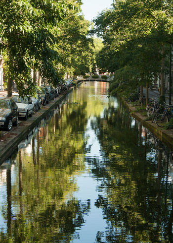 Canal Canals And Waterways Day Europe Nature No People Outdoors Reflection Tree Lined Water