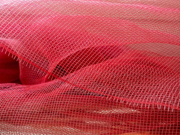 Full frame shot of red net